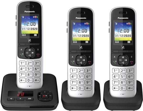 Panasonic KX-TGH723 schwarz