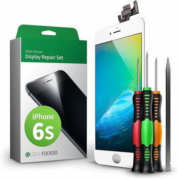 GIGA Fixxoo iPhone 6s Display Komplettset weiß