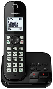 Panasonic KX-TGC460GB Single Schwarz