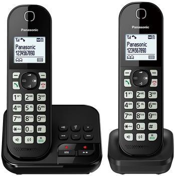 Panasonic KX-TGC462GB Duo Schwarz