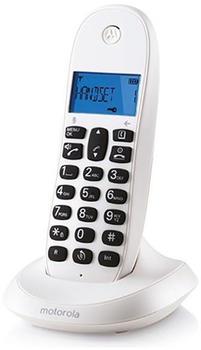 Motorola C1001 Single White