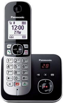 Panasonic KX-TG6861GB Schwarz/Silber Solo