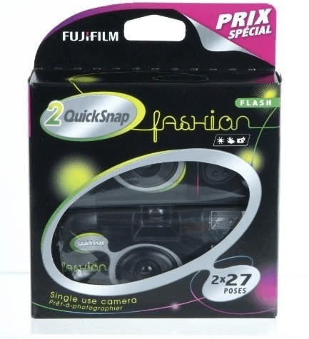 Fujifilm Quicksnap 400 Fashion Flash Black