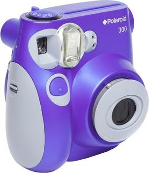 Polaroid 300 Sofortbildkamera violett