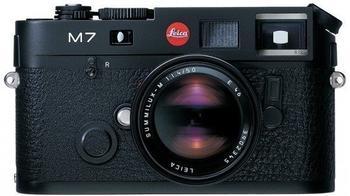 Leica M7 schwarz