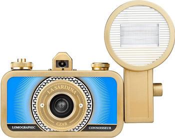 Lomo La Sardina Camera and Flash