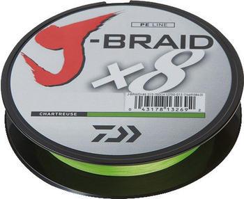 Daiwa J-Braid X8 chartreuse 150m 0,18mm