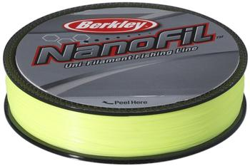 Berkley Nanofil 125m 0.18mm HV Chartreuse