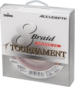 Daiwa Tournament 8 Braid 135m 0.08mm