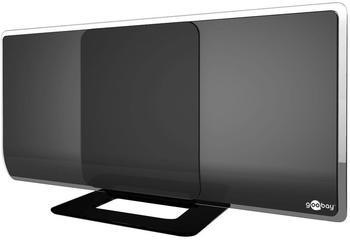 Goobay DVB-T2 Antenne aktiv mit Verstärker HDTV Full HD Zimmerantenne (DAB DVB-T)