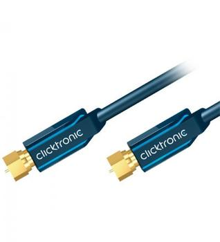 Clicktronic 70393 Casual SAT Antennenkabel (7,5m)