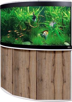 Fluval Aquariumkombination Venezia 190 Eiche / weiß