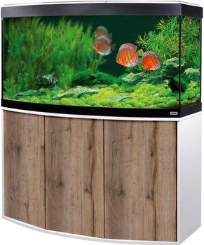Fluval Aquariumkombination Vicenza 260 Eiche / weiß