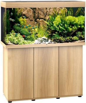 Juwel Rio 350 LED mit Unterschrank SBX helles Holz