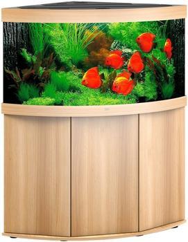 Juwel Trigon 350 LED mit Unterschrank SBX helles Holz