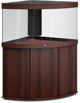 Juwel Trigon 350 LED mit Unterschrank SBX dunkles Holz