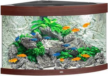 Juwel Trigon 190 LED ohne Schrank dunkles Holz