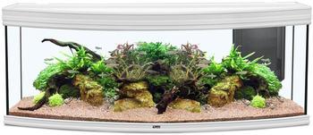 Aquatlantis Fusion Horizon 150 LED 2.0 ohne Unterschrank weiß