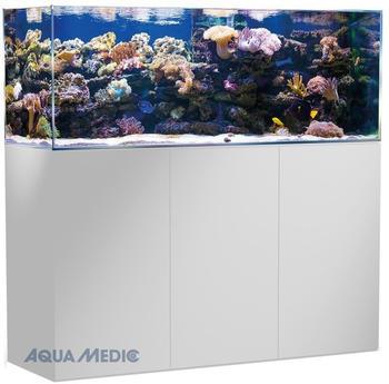 Aqua Medic Armatus 450 weiß mit Unterschrank