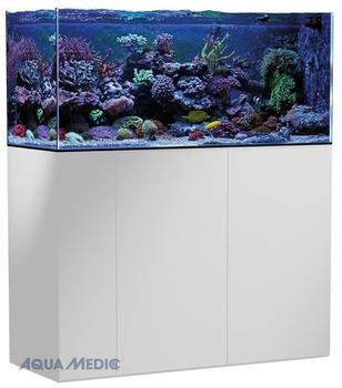 Aqua Medic Armatus 400 mit Unterschrank weiß