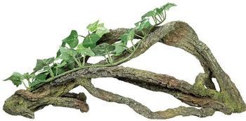 """Nobby Aqua Ornaments """"HOLZ"""" mit Pflanzen (42,5 x 12,5 x 17 cm)"""