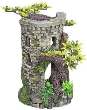 "Nobby Aqua Ornaments ""Turm"" mit Bonsai (9 x 10 x 15 cm)"