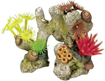 "Nobby Aqua Ornaments ""KORALLE"" mit Pflanzen (11 x 7 x 8,5 cm)"