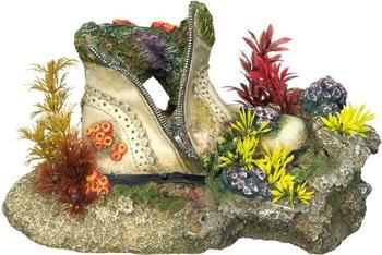 Nobby Aqua Ornaments Schuh mit Korallen mit Pflanzen (28496)