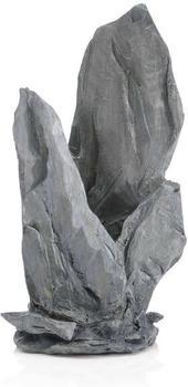 biOrb Schiefer Ornament mittel grau (46126)