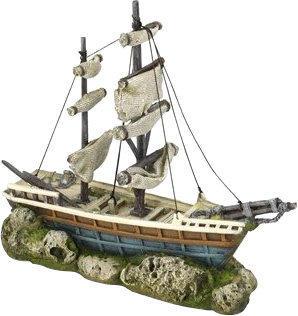 EBI Boat with Sails 38 x 12,5 x 31,5 cm (234-416204)