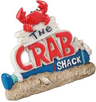 EBI Aqua Della Crab Shack 10 x 2,5 x 8 Set von 3 (234-421079)