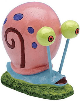 Penn-Plax Spongebob Schwammkopf - Schnecke Gary 5cm