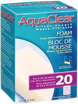 AquaClear Schaumstofffilterpatrone für Powerfilter 20