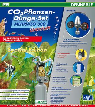 Dennerle CO2 Pflanzen-Dünge-Set MEHRWEG 300 Quantum Special Edition
