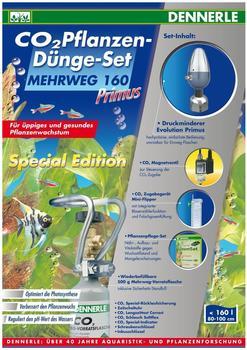 Dennerle CO2 Pflanzen-Dünge-Set Mehrweg 160 Primus Special Edition - CO2 Flasche 500g