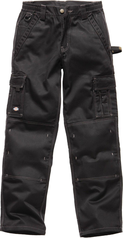 Dickies Industrie 300 3//4 Hosenlänge Tasche Arbeit Hosen Schwarz