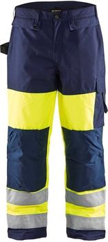Blakläder High Vis Winterhose (18831997) gelb/marineblau