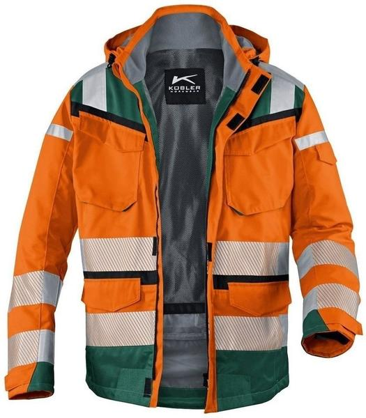 k bler workwear reflectiq wetterjacke psa 2 1307 orange. Black Bedroom Furniture Sets. Home Design Ideas