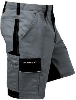 Pfanner StretchZone Canvas Shorts grau/schwarz