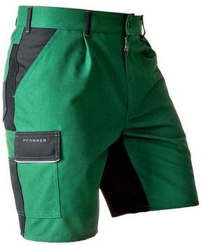 Pfanner StretchZone Canvas Shorts grün/schwarz
