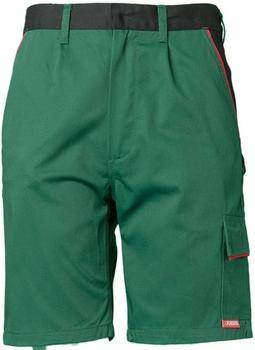 Planam Highline Shorts grün/schwarz/rot