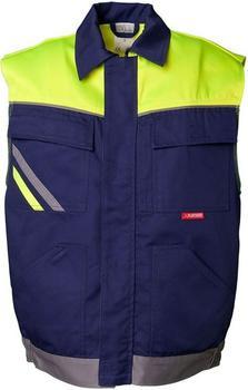 Planam Arbeitsweste VISLINE marine/gelb/zink