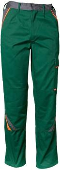 Planam Visline Bundhose grün/orange/schiefer