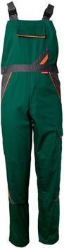 Planam Visline Latzhose grün/orange/schiefer