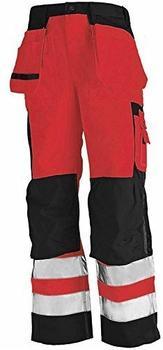 Blakläder High Vis Bundhose (15331860) rot/schwarz