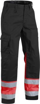 Blakläder High Vis Bundhose (15641811) schwarz/rot