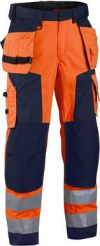 Blakläder High Vis Softshell Bundhose (15672517) orange/marineblau
