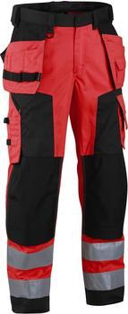 Blakläder High Vis Softshell Bundhose (15672517) rot/schwarz