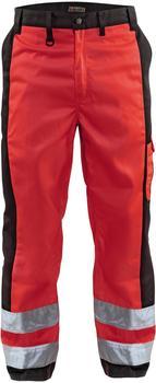Blakläder High Vis Bundhose (15831860) rot/schwarz
