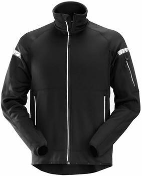 Snickers 8005 AllroundWork Winddichte Fleece Arbeitsjacke schwarz